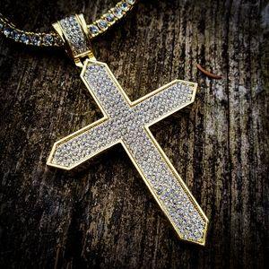 Cross Tennis Necklace Set